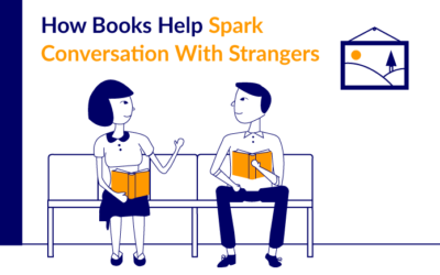 How Books Help Spark Conversations With Strangers