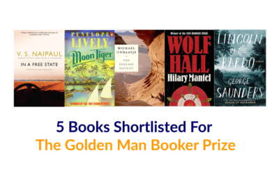 #TCRRack: 5 Books Shortlisted For The Golden Man Booker Prize