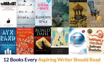 12 Books Every Aspiring Writer Should Read