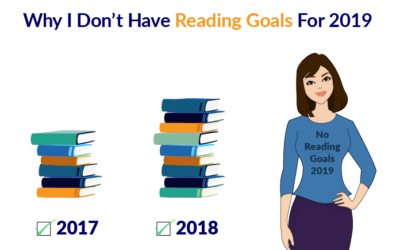 Why I Don't Have Reading Goals For 2019