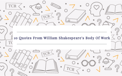10 Quotes From William Shakespeare's Body Of Work