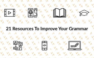 21 Resources To Improve Your Grammar