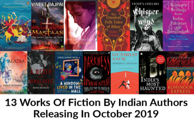 13 Works Of Fiction By Indian Authors Releasing In October 2019